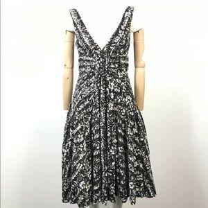 Diane Von Furstenberg Monochrome print lacie Dress